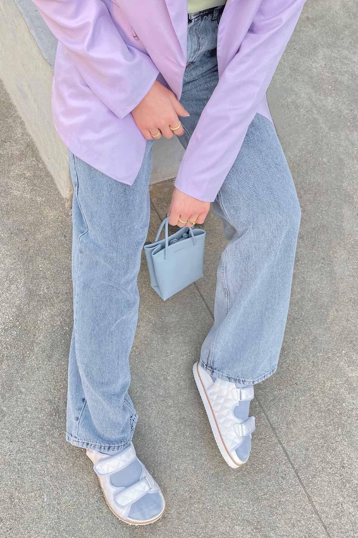 Sedanur'un Kruvaze Blazer Ceket Kombini