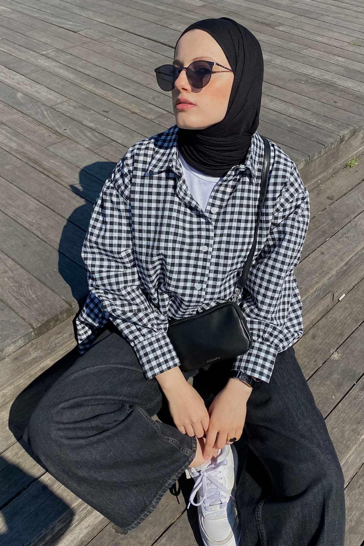 Elif'in Puffy Gömlek Kombini