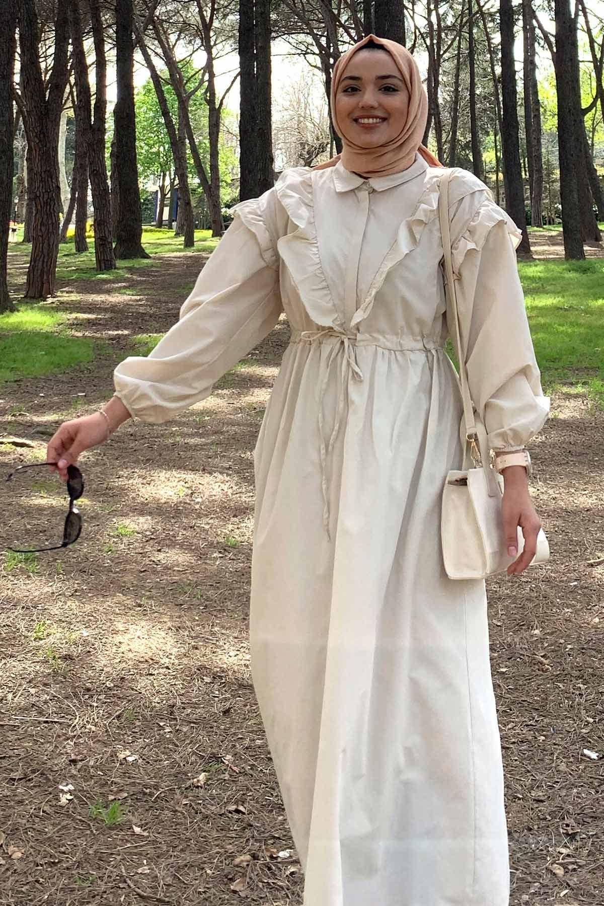 Ebru'nun Juliet Elbise Kombini