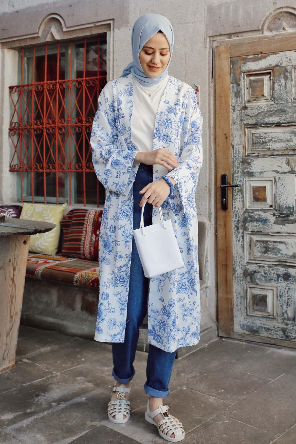 Aybüke'nin Casual Kimono Kombini