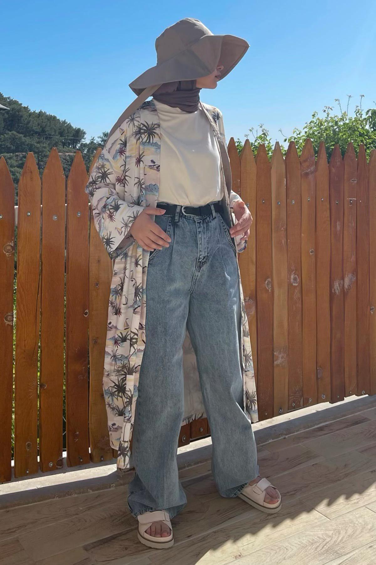 Bihter'in Casual Kimono Kombini