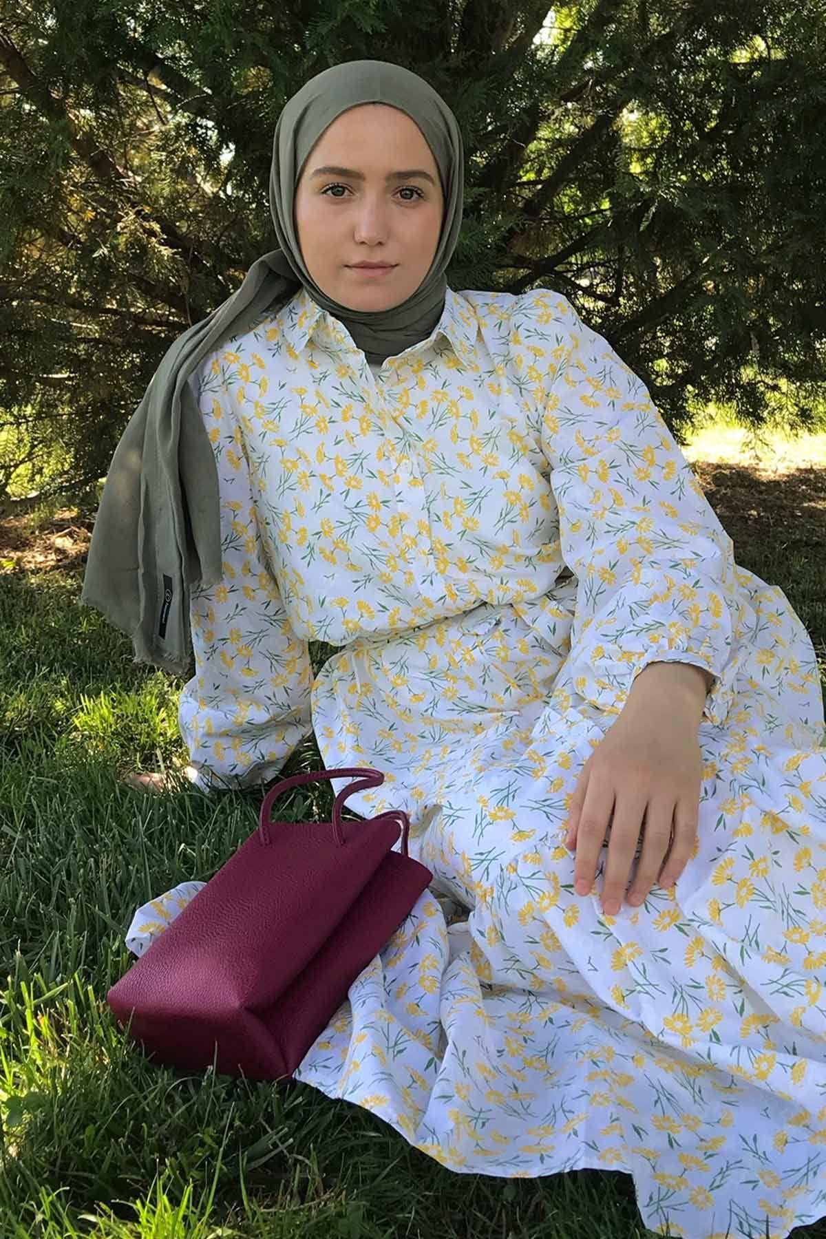 Buse'nin Zeyn Elbise Kombini