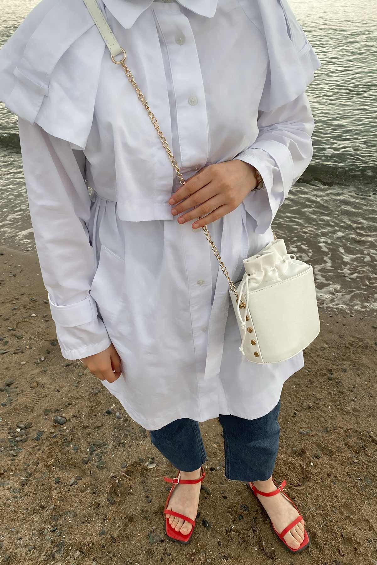 Erva'nın Victoria Gömlek Kombini