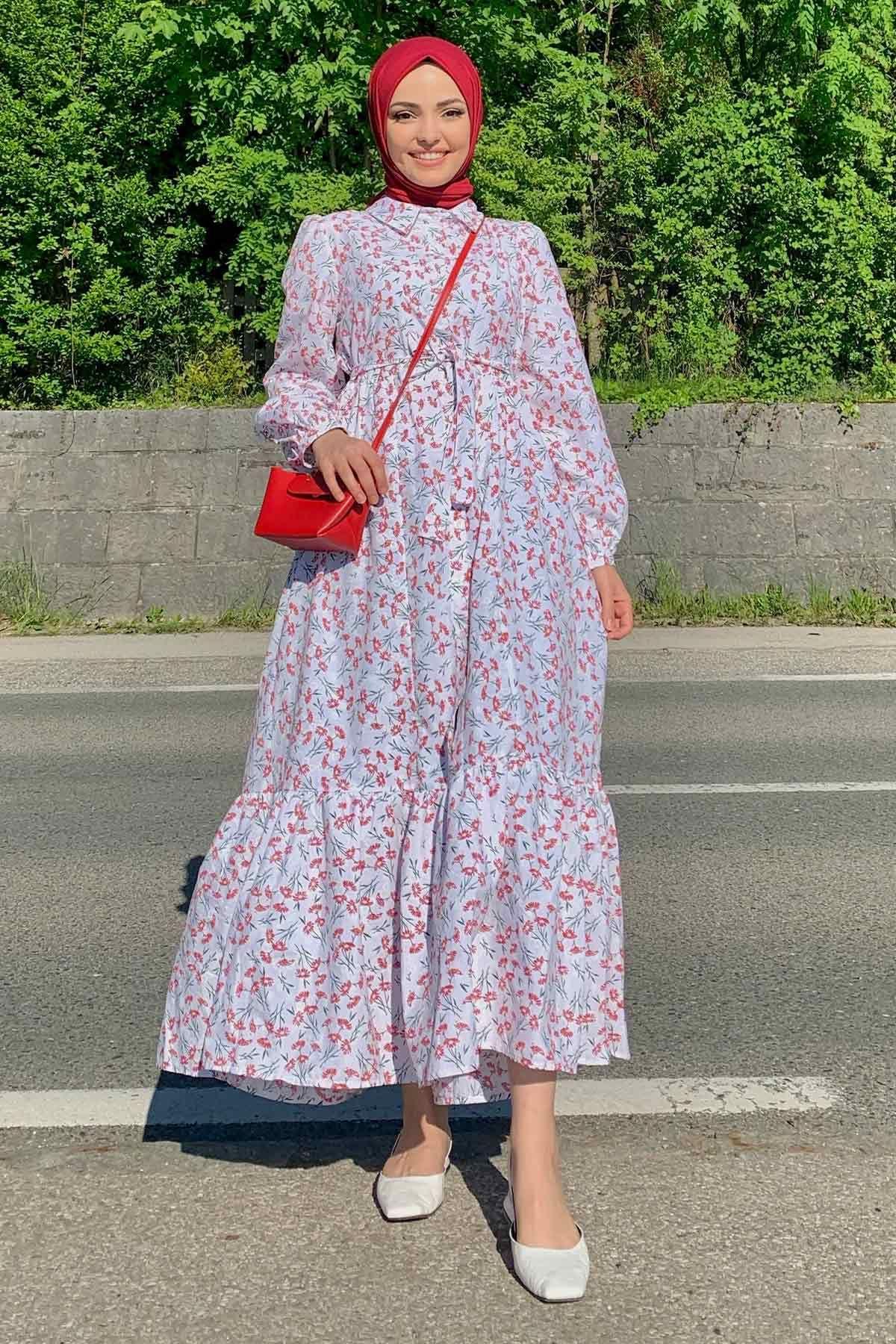 Kübra'nın Zeyn Elbise Kombini