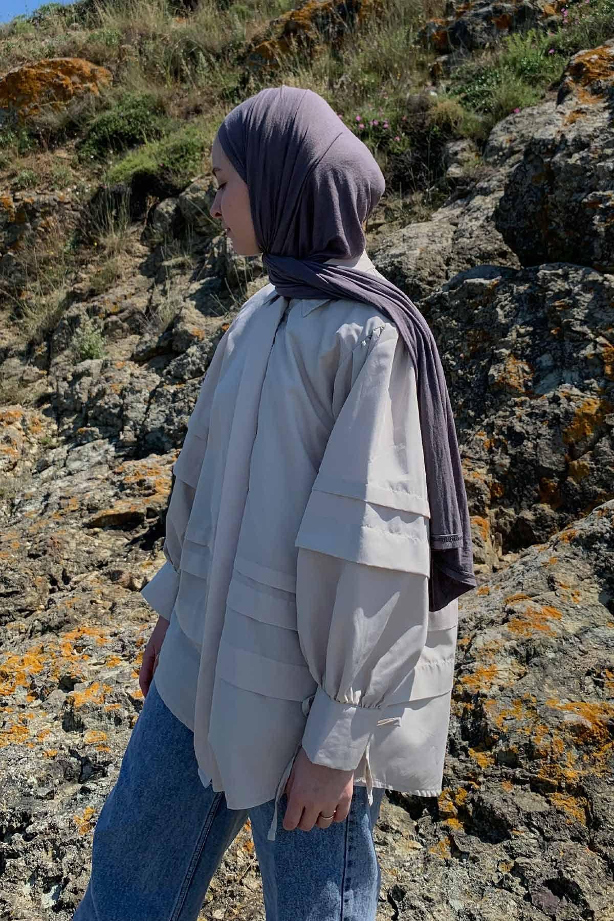Ahsen'in Juliet Gömlek Kombini