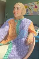 Sümeyye'nin Çok Renkli Gömlek Kombini - Thumbnail