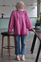 Kübra'nın Juliet Poplin Gömlek Kombini - Thumbnail