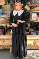 Rumeysa'nın And Poplin Elbise Kombini - Thumbnail