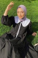 Melek'in And Poplin Elbise Kombini - Thumbnail