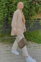 Sıla'nın Puffy Gofre Gömlek Kombini - Thumbnail