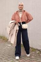 Aleyna'nın Puffy Gömlek Kombini - Thumbnail