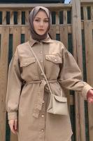 Emine'nin Mily Gabardin Ceket Kombini - Thumbnail
