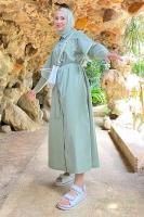 Sedanur'un Clou Elbise Kombini - Thumbnail