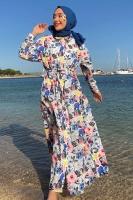 Melek'in Poplin Elbise Kombini - Thumbnail