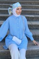 Kübra'nın Puffy Gofre Gömlek Kombini - Thumbnail