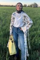 Mavera'nın Casual Kimono Kombini - Thumbnail